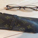 ルイ・ヴィトンとJINSの眼鏡