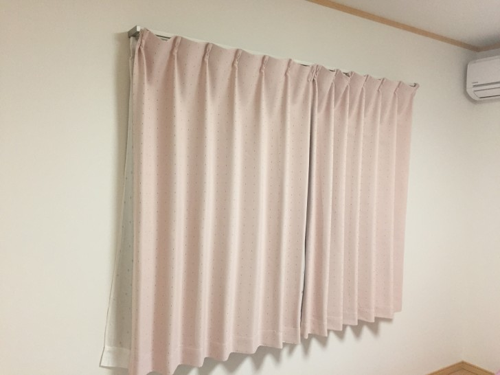 寝室のカーテンは断捨離しない