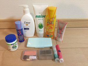 肌断食13日目のスキンケアと化粧品