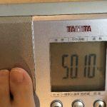 38歳子持ち主婦の体重50.1kg