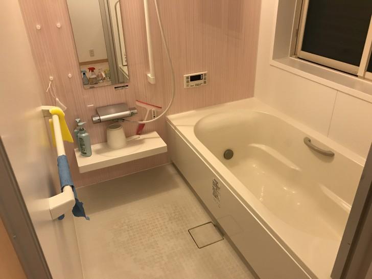 掃除前のお風呂