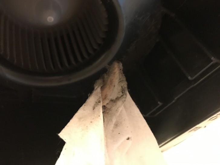 お風呂の換気扇の掃除