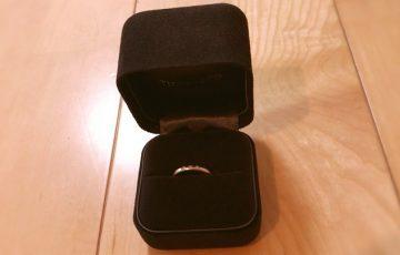 Tiffanyの指輪