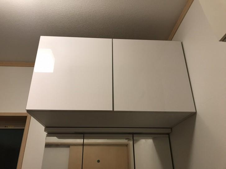 洗面台の上の収納