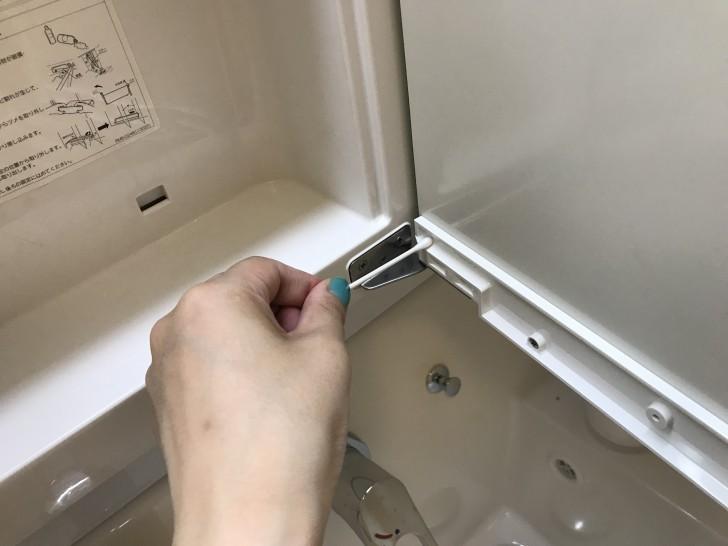 洗面台の掃除