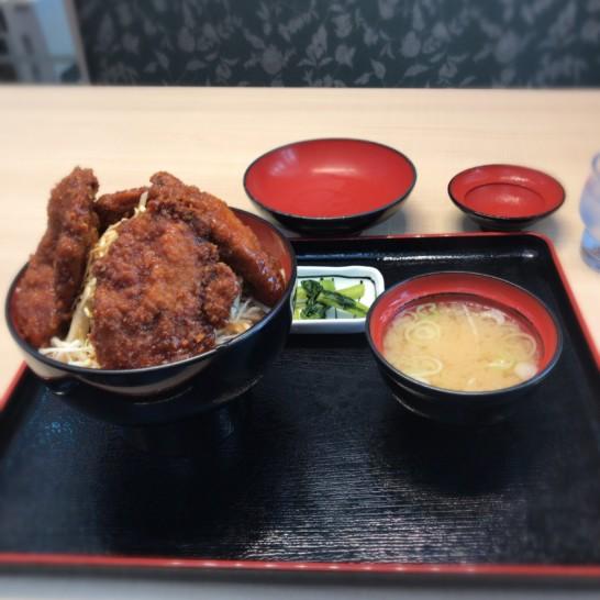 ソースカツ丼、軽井沢