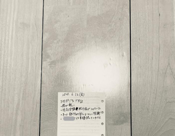 3行ポジティブ日記